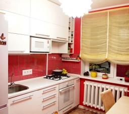 Дизайн кухни с нишей в панельном доме