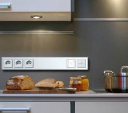 Розетки на кухне. Расположение и расчет нагрузки.